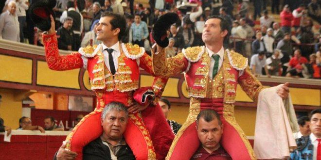 Jerónimo y Joselito salen en hombros en Teziutlán (*Fotos*)