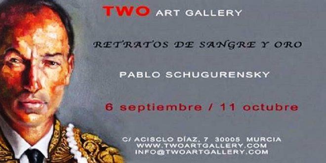 RETRATOS DE SANGRE Y ORO, exposición de arte contemporáneo en la galería murciana Two Art Gallery (*Fotos*)
