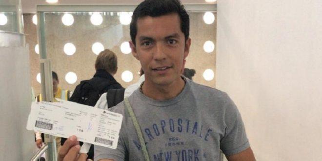 Viaja Israel Téllez a Ecuador, donde actuará el