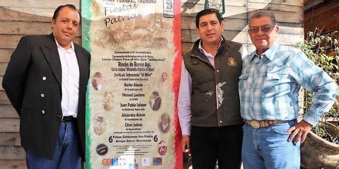 Festival taurino en Rincón de Romos, el día 29