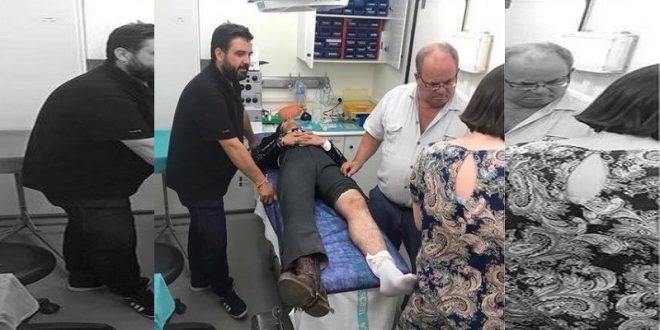Gamero no actuará en Portugal por lesión en la rodilla izquierda