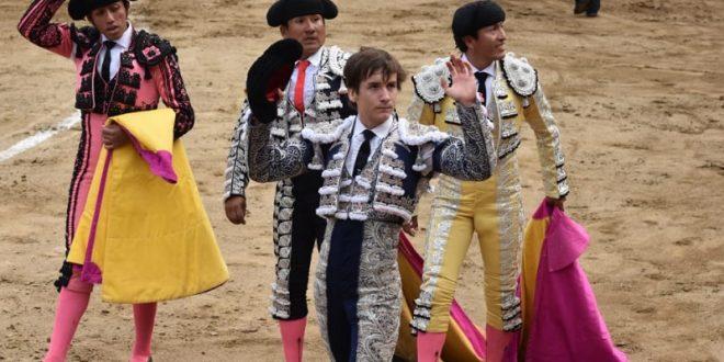 Arturo Gilio, el más destacado en novillada en Acho