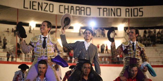 Zendejas, José Mauricio y Diego Silveti, a hombros en Nochistlán, Zacatecas