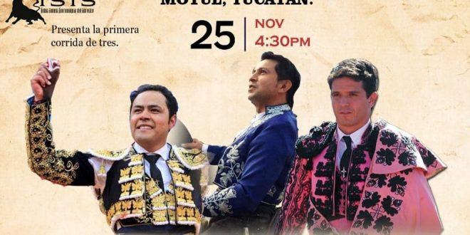 Ayala, Angelino y 'El Chihuahua' inauguran la temporada en MOTUL, Yucatán