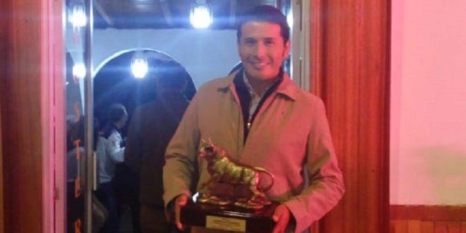Gana Christian Ortega el trofeo en disputa en Río Bamba, Ecuador