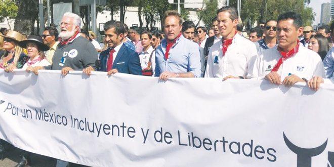 ¡TOROS, SÍ! Multitudinaria marcha a favor de Nuestras Tradiciones (*Fotos*)