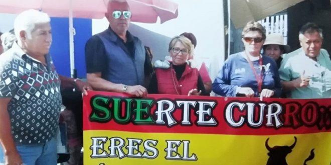 Apoya grupo de INAPAM a Curro Plaza, quien toma la alternativa el viernes