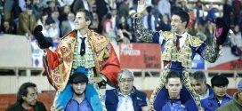 ¡TRIUNFAL corrida en MOROLEÓN… SILVETI y FLORES, a HOMBROS!