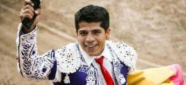 Grave, el novillero Luis García