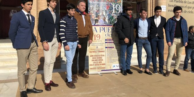 Debut español del mexicano Emiliano Ortega, en festejo organizado por 'Morante de la Puebla'