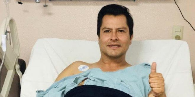 Tras CORNADA DE TRES TRAYECTORIAS, viaja LUIS GALLARDO hora y media sin anestesia a operarse (*FOTOS*SE REQUIERE DISCRECIÓN*)