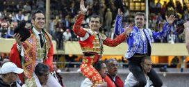 Gran tarde en Toluca; a hombros Hermoso, Adame y Silveti