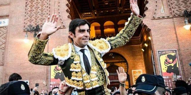 Perera, a hombros en Madrid