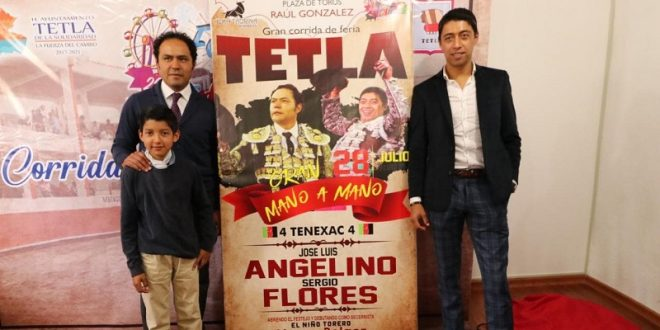 Cartelazo en Tetla, Tlaxcala