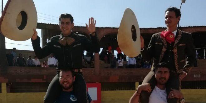 Sendos rabos a Fermín SPÍNOLA y Juan Luis SILIS, en TEOLOYUCAN