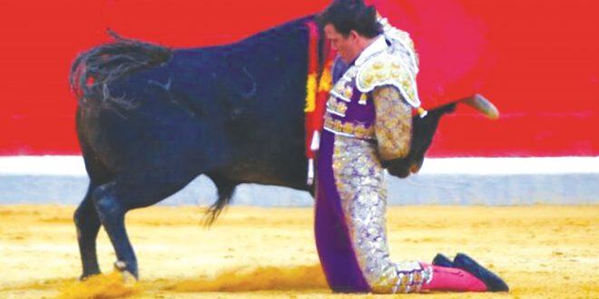 Miguel Aguilar, 'muy gallo' en la Feria de Granada