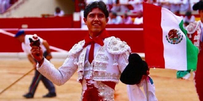 Valiosa oreja para Luis David, en Pamplona