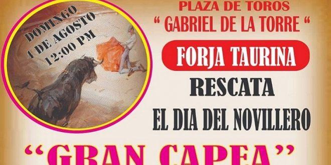 Habrá CAPEA este domingo en la plaza de ATIZAPÁN