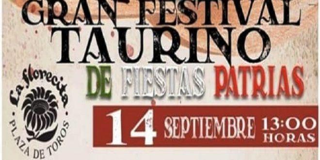 FESTIVAL BENÉFICO y de carácter GRATUITO, el 14 de septiembre, en LA FLORECITA