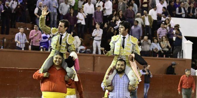 Salen a hombros Fermín Rivera y José Mauricio en  San Luis Potosí