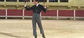 Dos orejas, a Iñaki González en clase práctica en territorio galo
