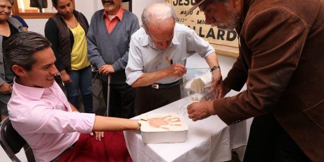 Intensa actividad de Diego  Silveti en Tlaxcala (*Fotos*)