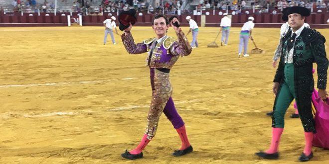 Miguel Aguilar, triunfador en Málaga