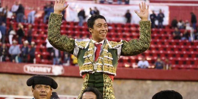 Triunfo y trofeo, para Sergio Flores en Zacatecas