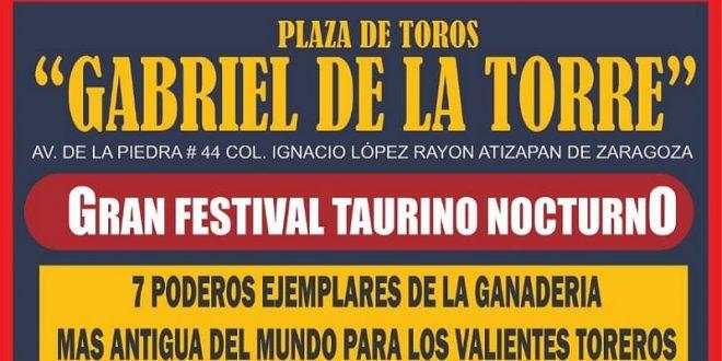 Habrá festival taurino nocturno el sábado en Atizapán