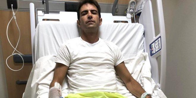 Macías, sin mover los dedos tras cornada en Madrid