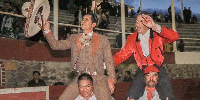 A hombros, 'El Zapata' y 'Miguelete'