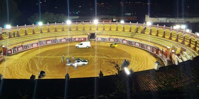 ¡Dejan 'guapa' la Plaza Jorge Ranchero Aguilar, que abre sus puertas la noche del viernes!