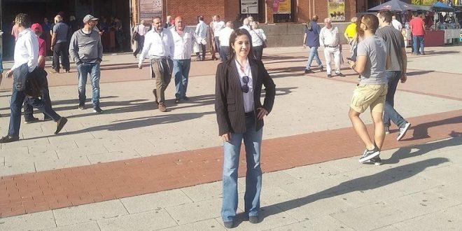 Cancela Hilda Tenorio viaje a España