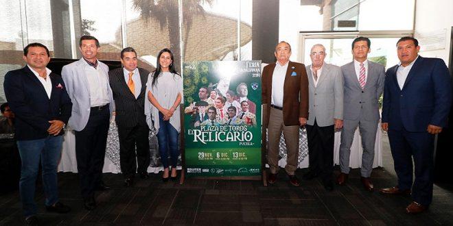 Listos los carteles para la Feria Guadalupana de Puebla