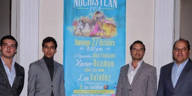 Leo Valadez, en Nochistlán
