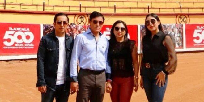 Rafael Ortega y familia continuarán dando festejos en Tlaxcala