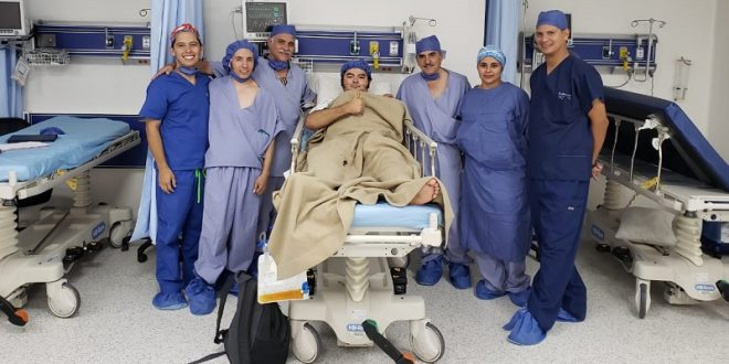 El forcado Jorge Solorio se recupera de grave cornada