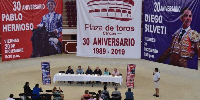 Pablo Hermoso de Mendoza y Diego Silveti, en Cancún