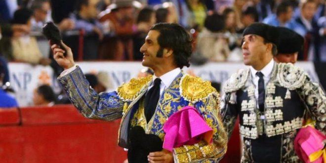 Sendas orejas a Morante de la Puebla y Adame, en la Plaza México