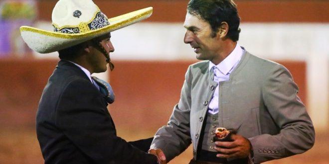 ANDY CARTAGENA y FABIÁN BARBA, a hombros en Calvillo