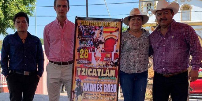 Habrá festejo de rejones en Tzicatlán, Puebla