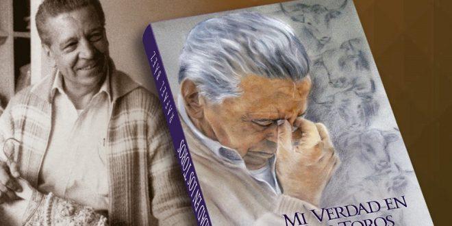 Presenta Rafael Báez libro 'Mi verdad en los toros'