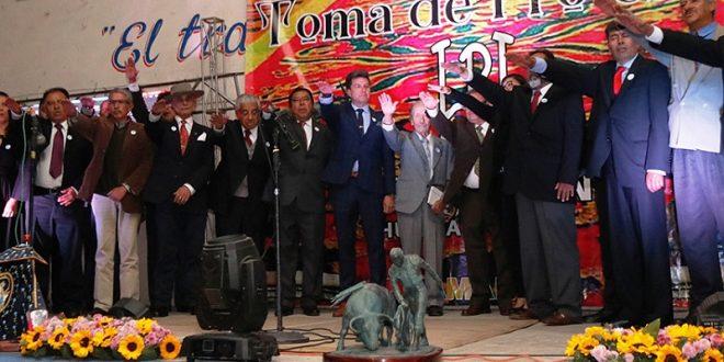 Toma Protesta la nueva mesa directiva de la Peña Taurina de Huamantla