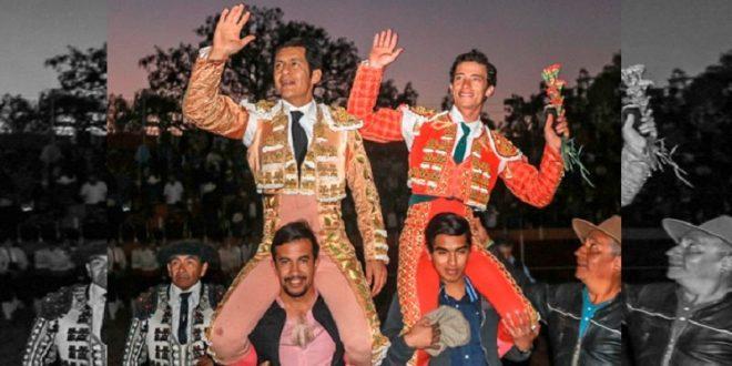 Moreno y Mendoza, en volandas tras actuación en Tepocajo, Hidalgo