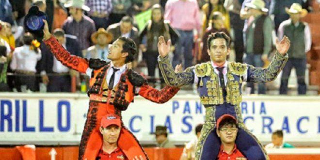 A hombros Téllez y García en Jalpa, Zacatecas