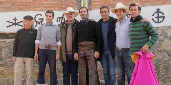 Ensayan el toreo en Arroyo Zarco