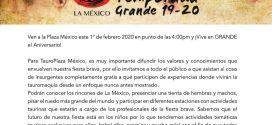 Abre la México para todos, el uno de febrero, con diversas actividades