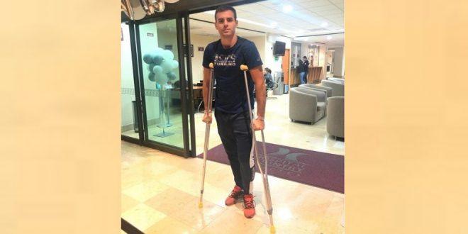 Abandona el hospital recortador herido