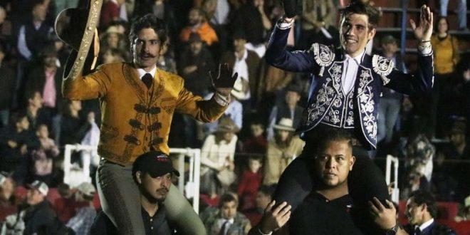 Emiliano Gamero y Guillermo Hermoso, a hombros en Val´Quirico