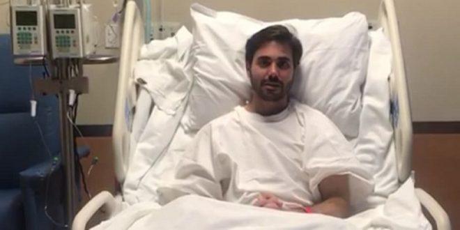 Esta semana podría salir José Mauricio del hospital; agradece a la afición a través de un video